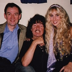 Spencer Leigh with Ritchie and Candice Blackmore