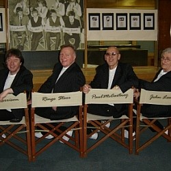 Fourmost in Beatle chairs